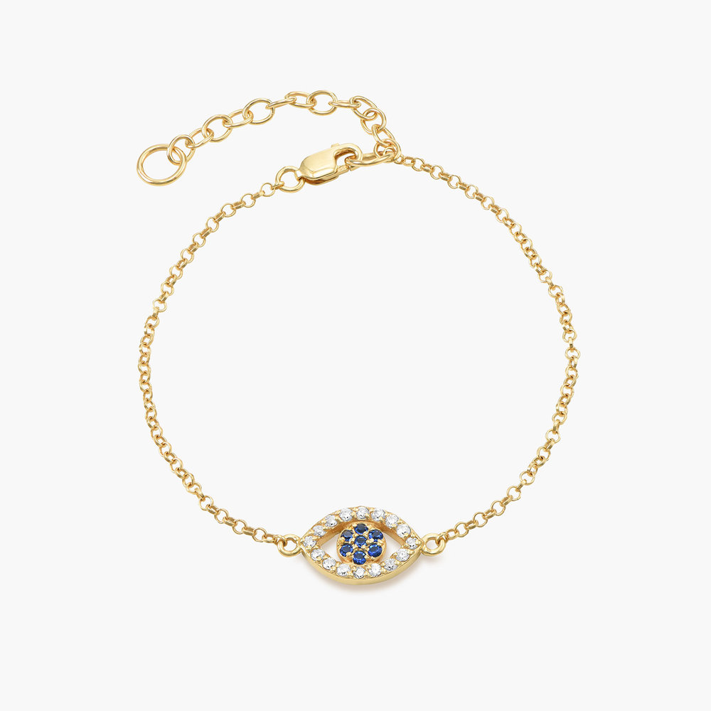 All Eyes on You Bracelet - Gold Plated