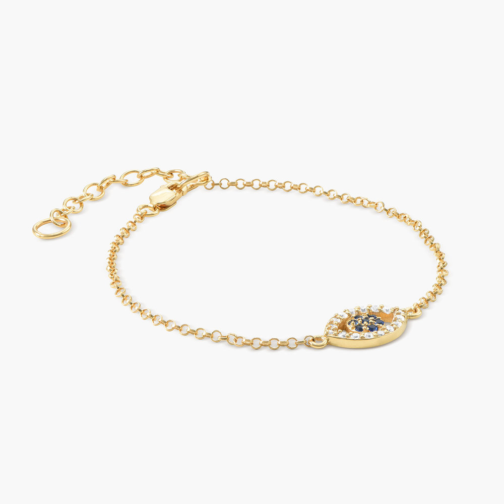 All Eyes on You Bracelet - Gold Plated - 1