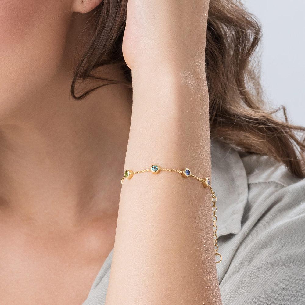 Rainbow Bracelet - Gold Plated - 2
