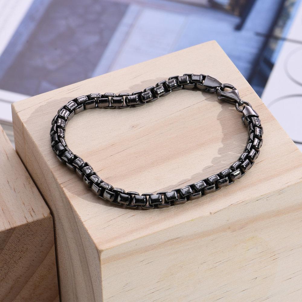 Midnight Luxe Bracelet - Silver - 1