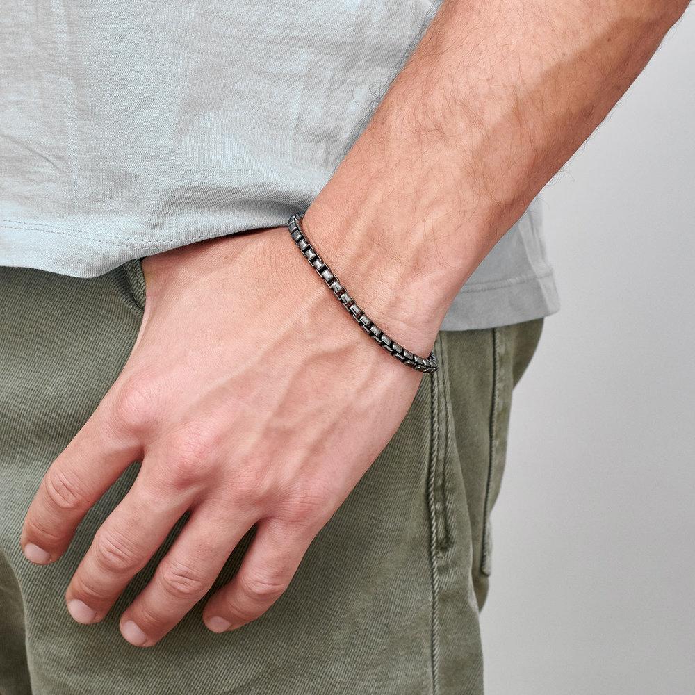 Midnight Luxe Bracelet - Silver - 2