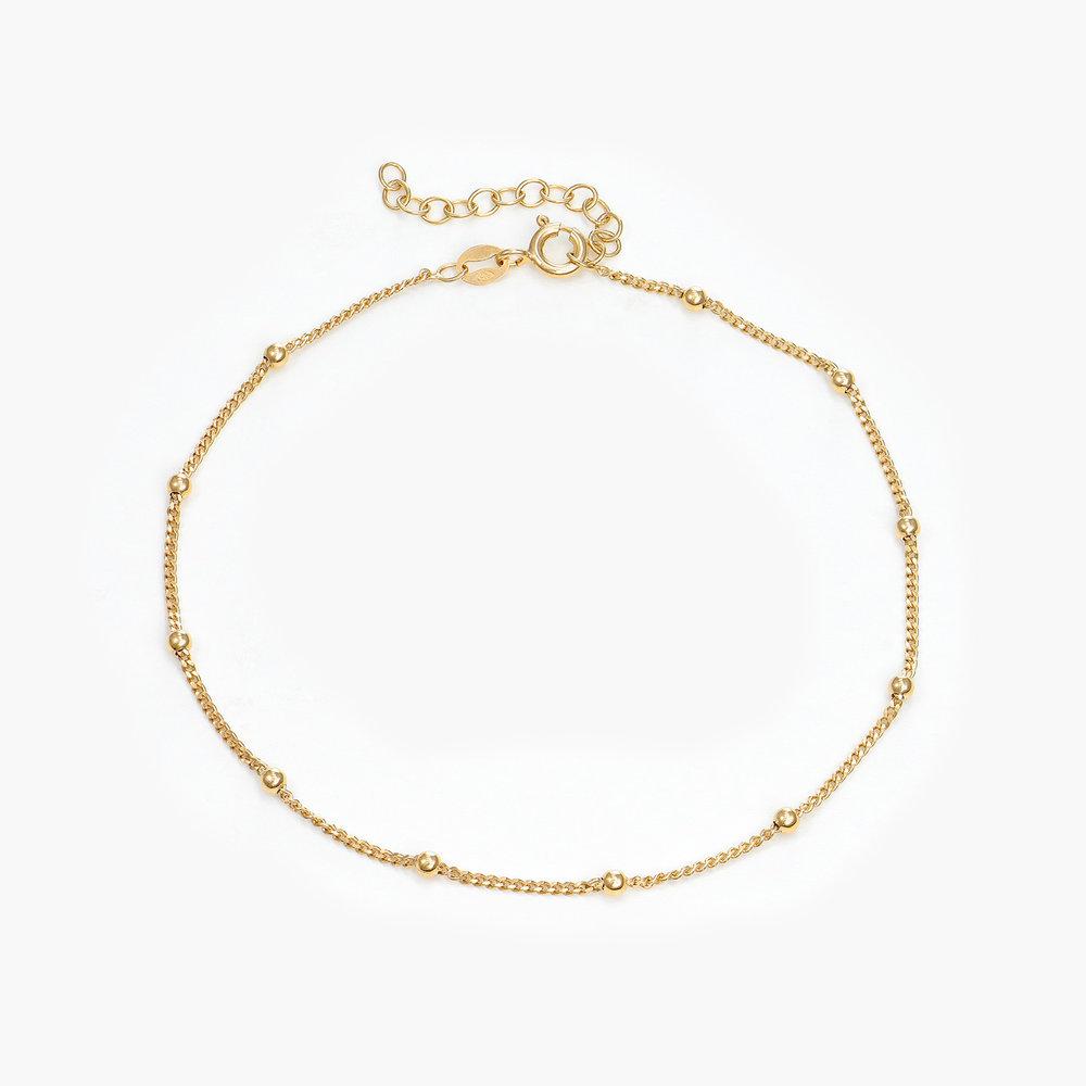 Bobble Chain Anklet/Bracelet- Gold Plated - 1