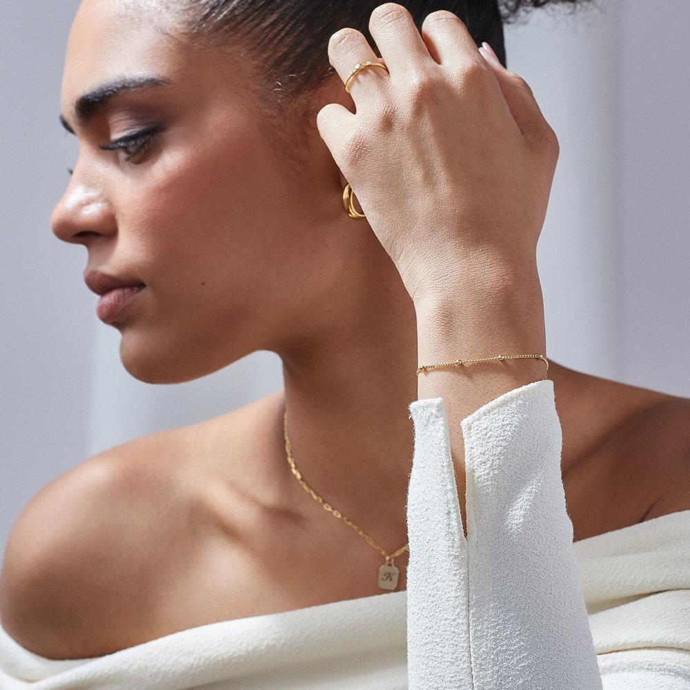 Bobble Chain Anklet/Bracelet- Gold Plated - 3