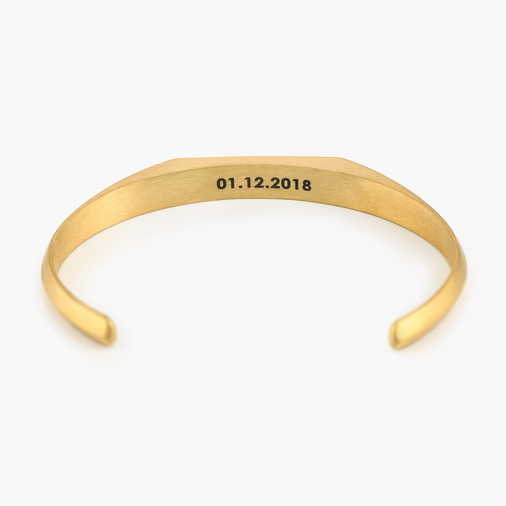 Legend Cuff Bracelet - Gold Plating - 1