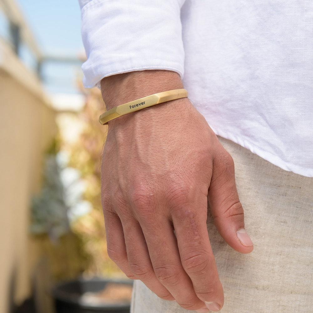 Legend Cuff Bracelet - Gold Plating - 2