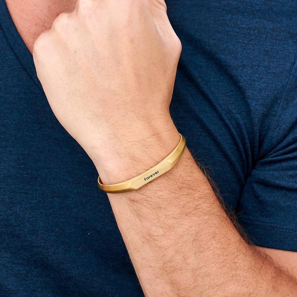 Legend Cuff Bracelet - Gold Plating - 4