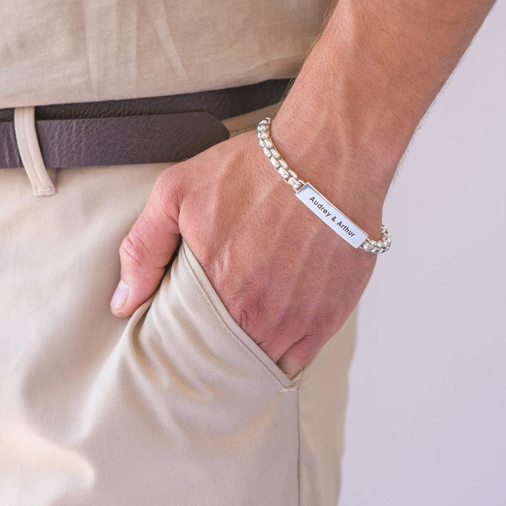 Arctic Ice Bracelet - Sterling Silver - 1