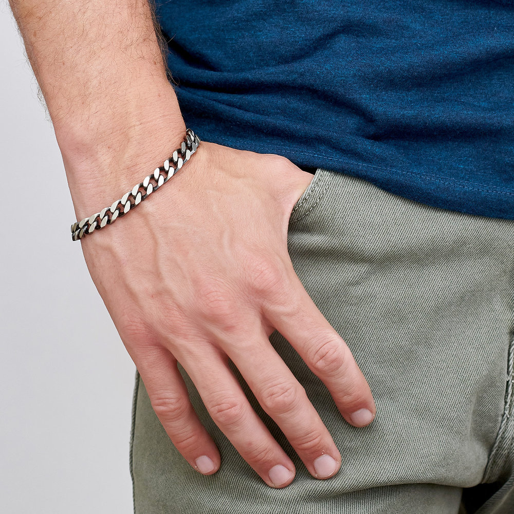 Zane Chain Bracelet - Sterling Silver - 1
