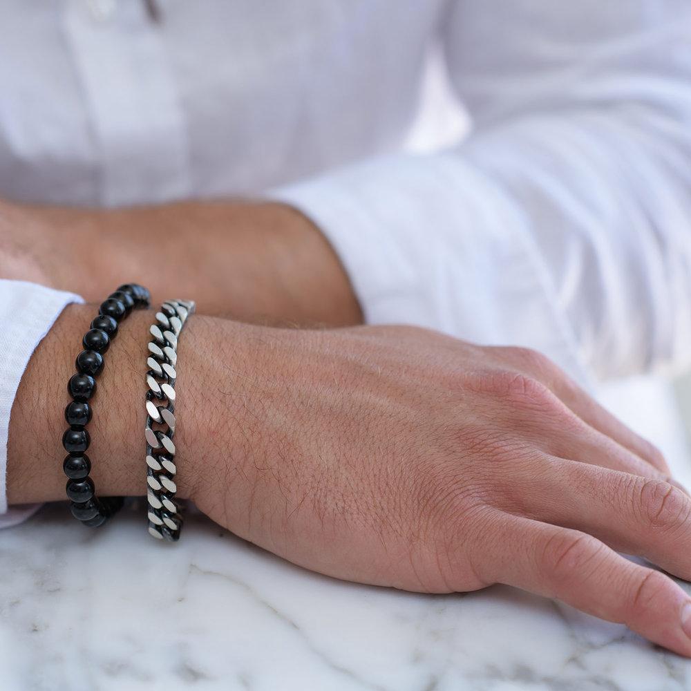 Zane Chain Bracelet - Sterling Silver - 2
