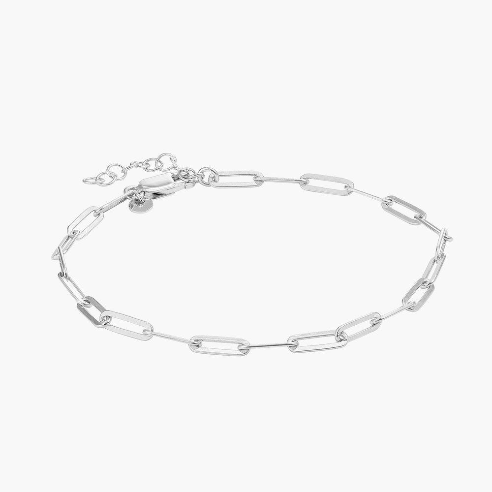 The Showstopper Link Bracelet/Anklet - Sterling Silver - 1