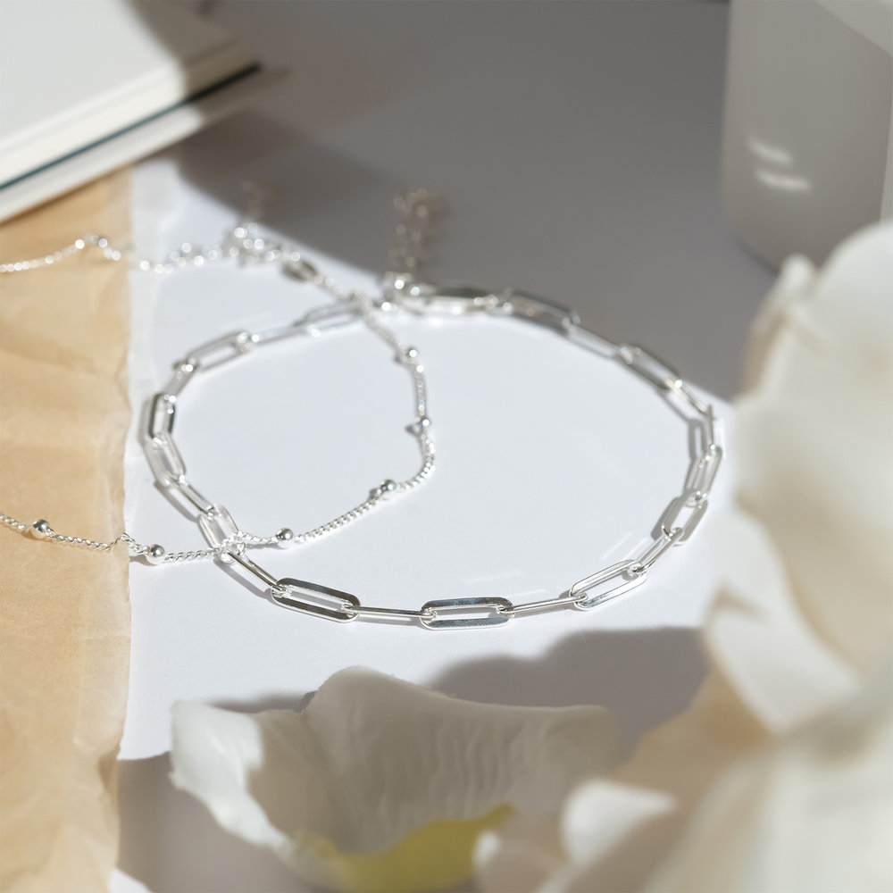 The Showstopper Link Bracelet - Sterling Silver - 2