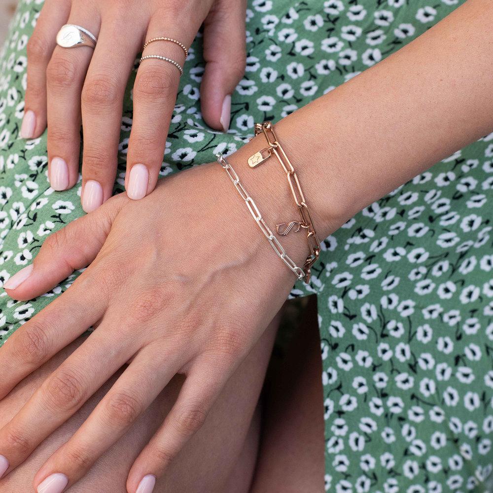 The Showstopper Link Bracelet/Anklet - Sterling Silver - 3