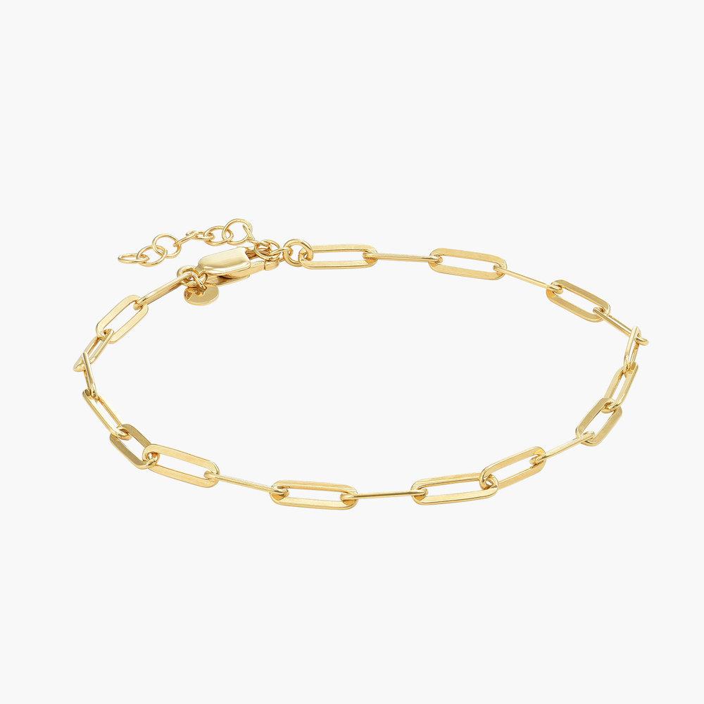 The Showstopper Link Bracelet/Anklet - Gold Plated - 1
