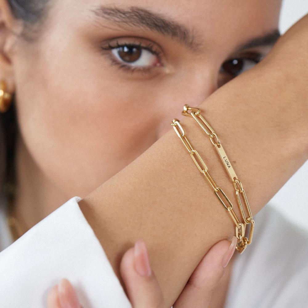 The Showstopper Link Bracelet/Anklet - Gold Plated - 4