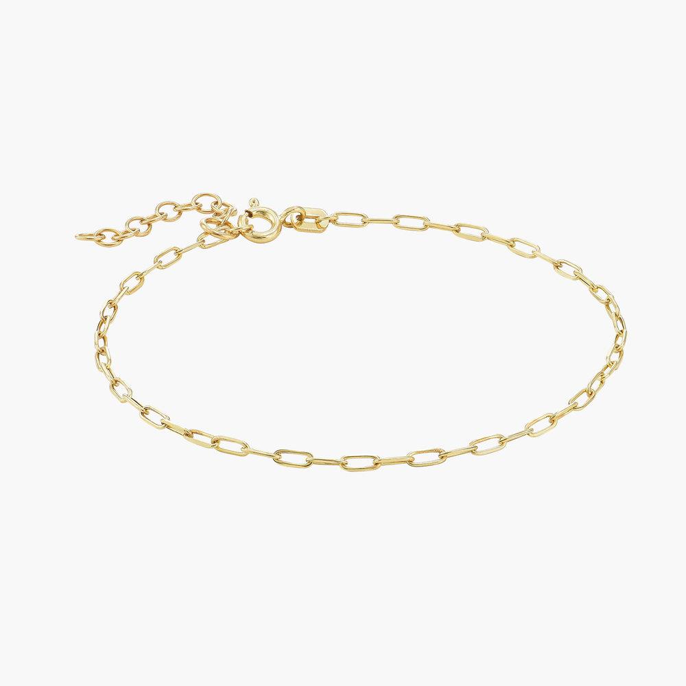 The Showstopper Link Bracelet - 10K Solid Gold