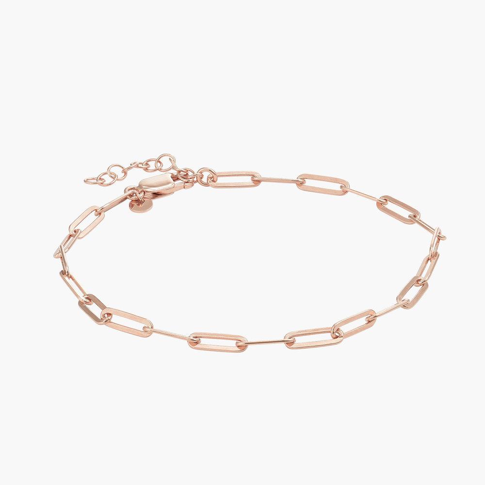 The Showstopper Link Bracelet - Rose Gold Plated - 1