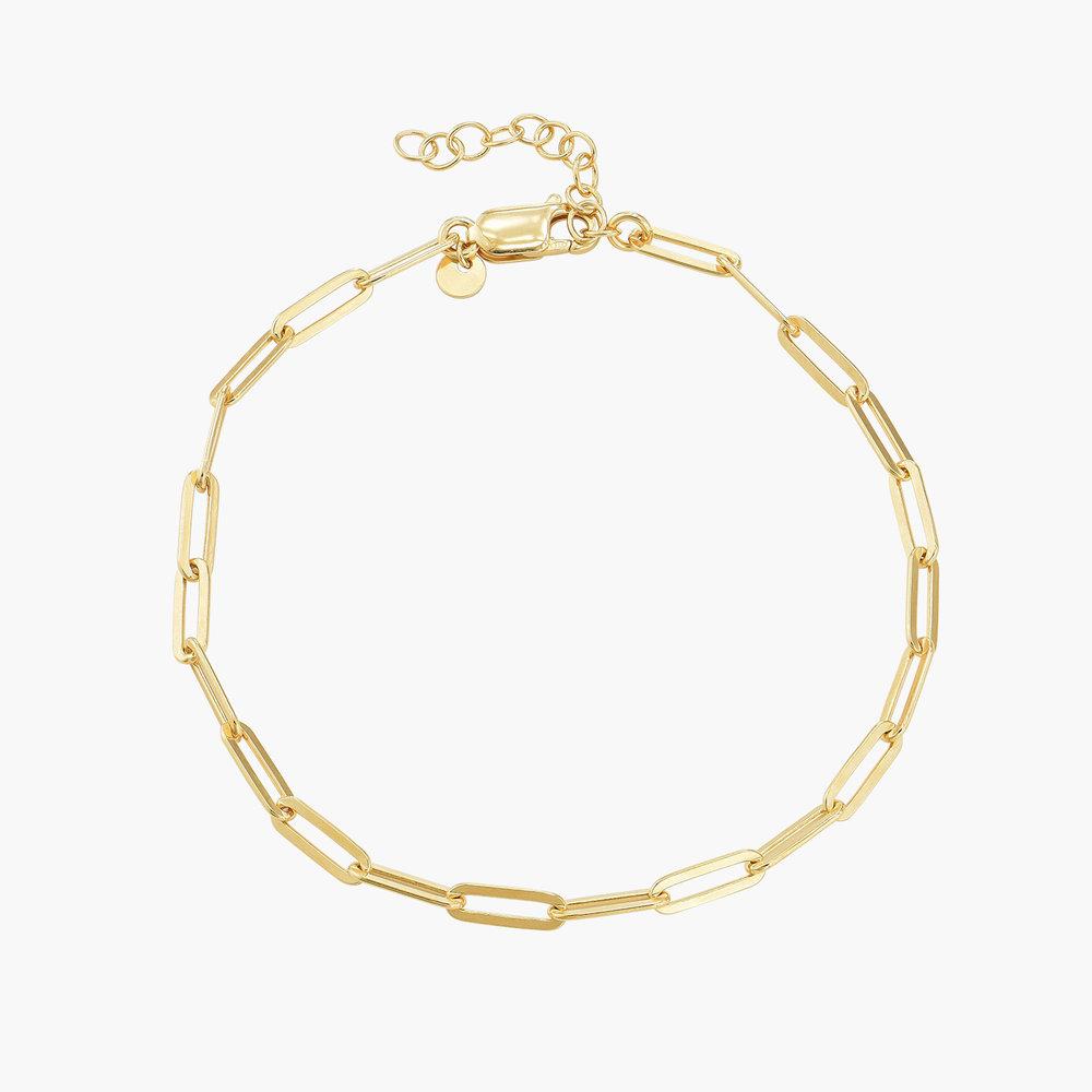 The Showstopper Link Bracelet/Anklet - Gold Vermeil