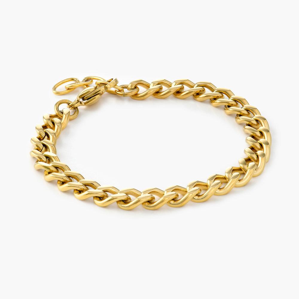 Tallulah Gourmette Bracelet - Gold Plating