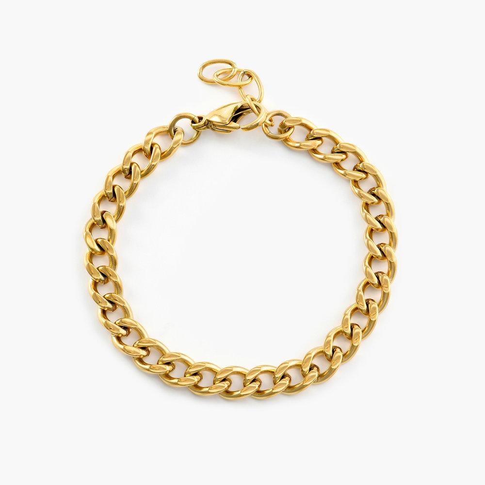 Tallulah Gourmette Bracelet - Gold Plating - 1
