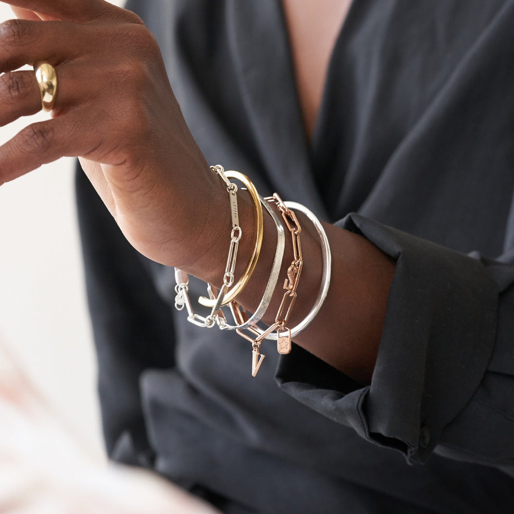 Herringbone Bracelet - Sterling Silver - 3