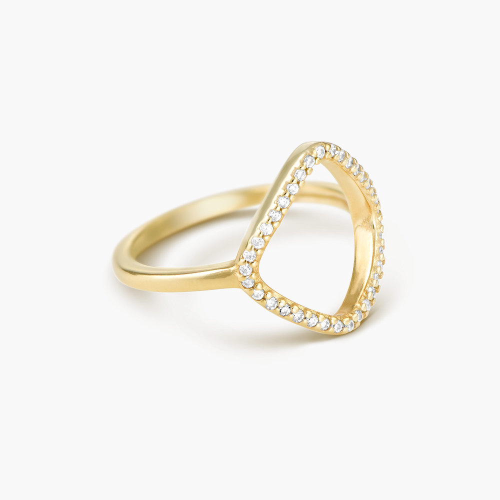 Siren Ring - Gold Plated - 1