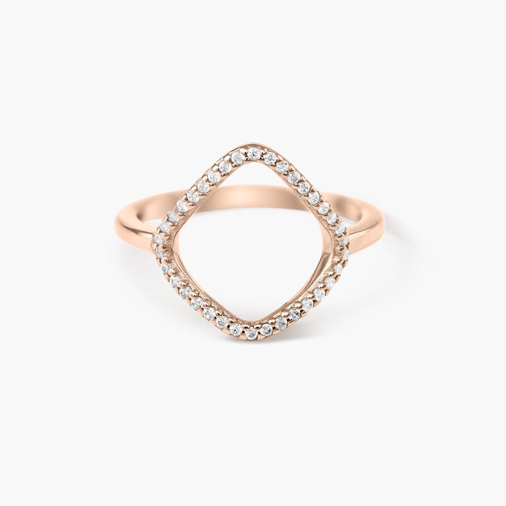 Siren Ring - Rose Gold Plated