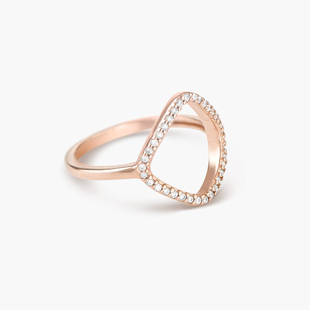 Siren Ring - Rose Gold Plated - 1