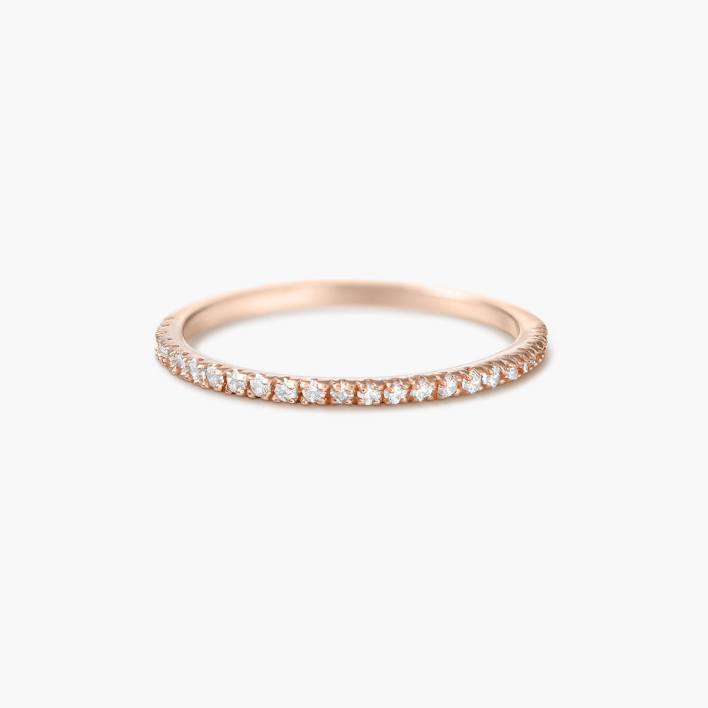 Serenity Ring - Rose Gold Plated