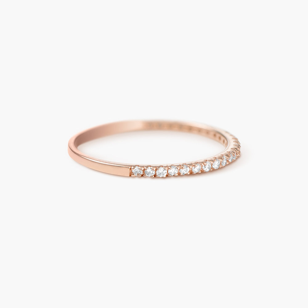 Serenity Ring - Rose Gold Plated - 1