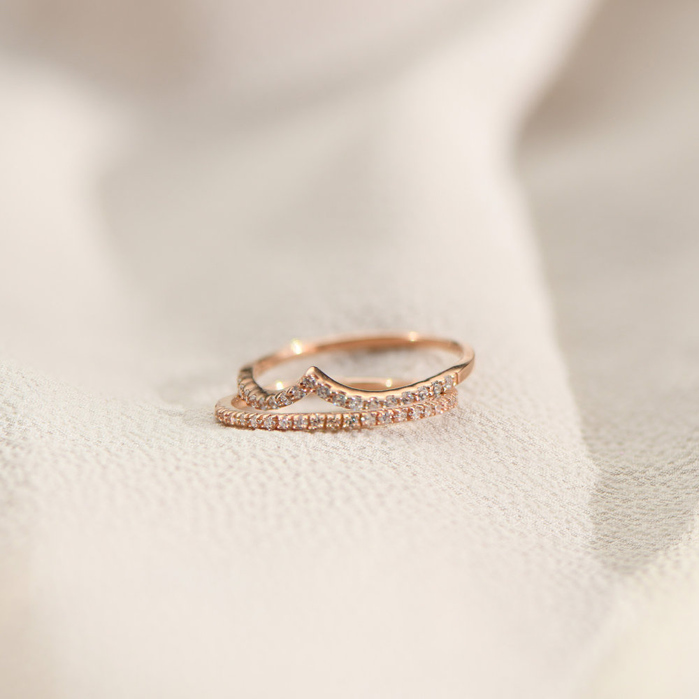 Serenity Ring - Rose Gold Plated - 2