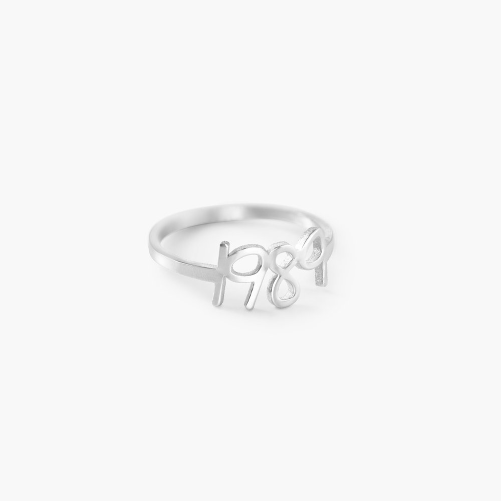 Pixie Name Ring - Silver - 1