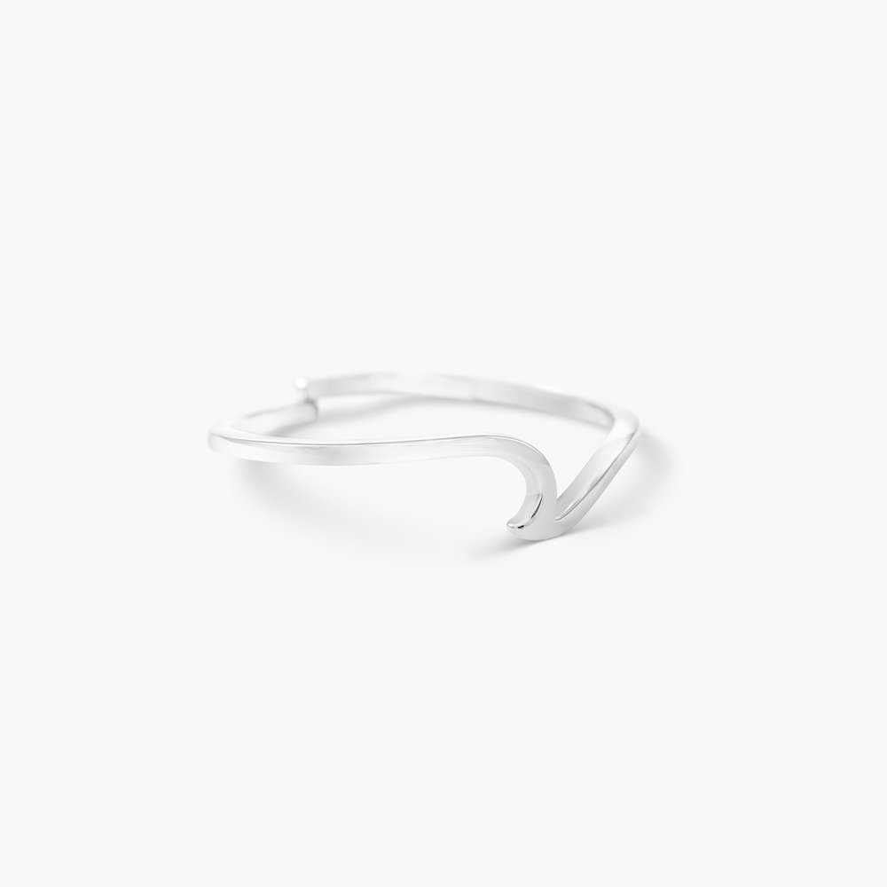 Wave Ring - Silver - 1