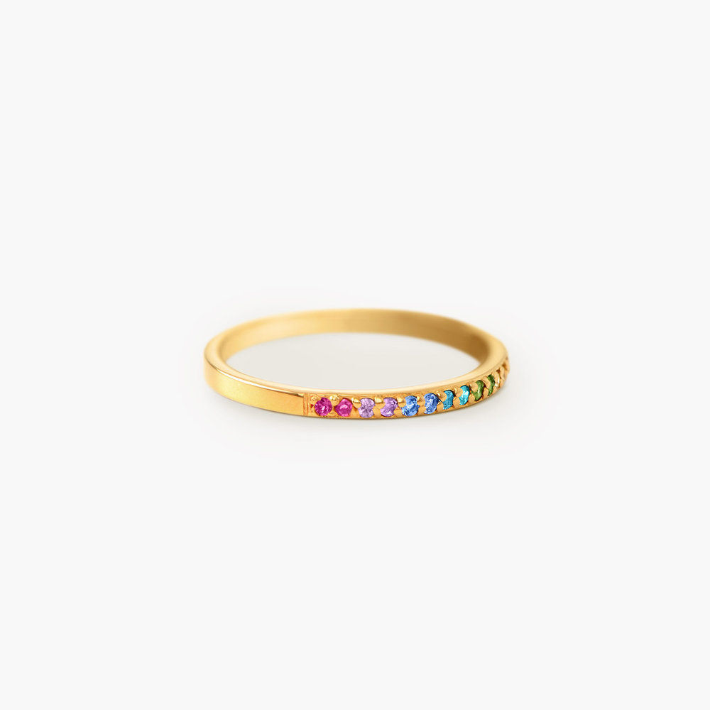 Rainbow Ring - Gold Plated - 1