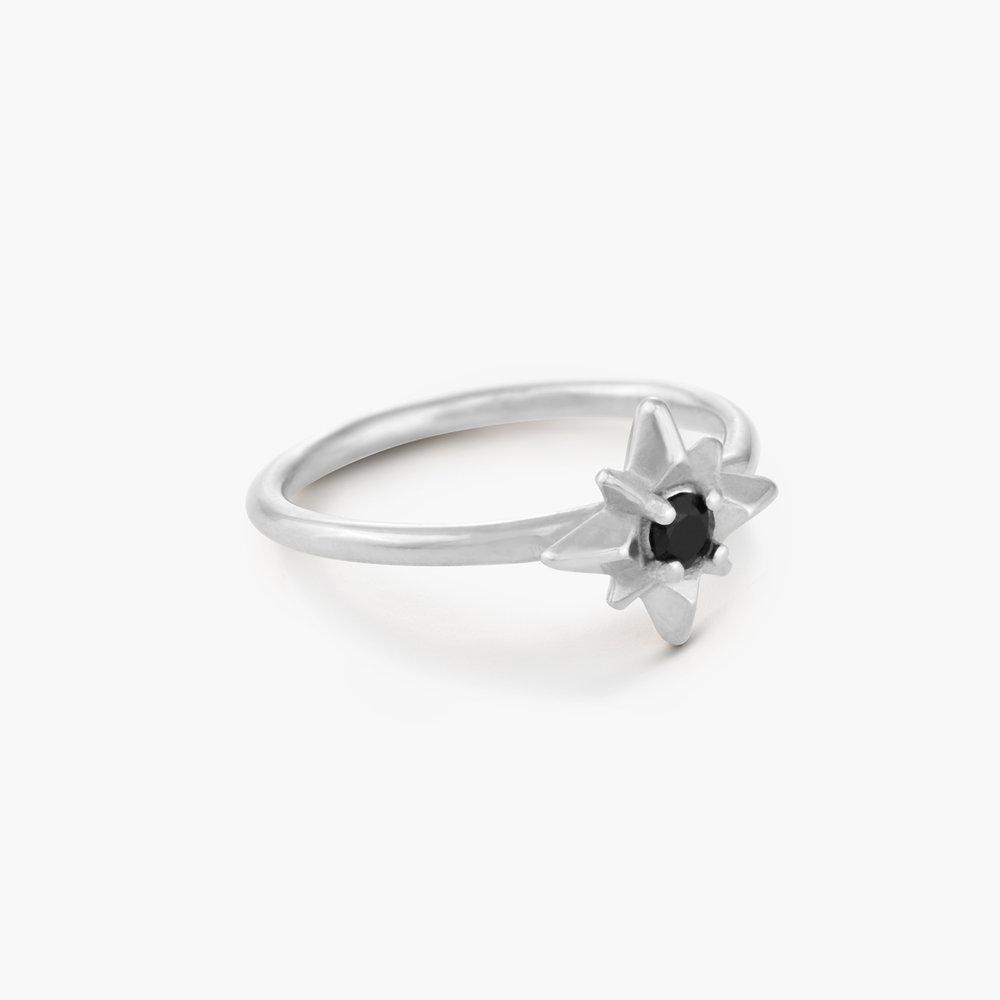 Starburst Ring - Sterling Silver - 1