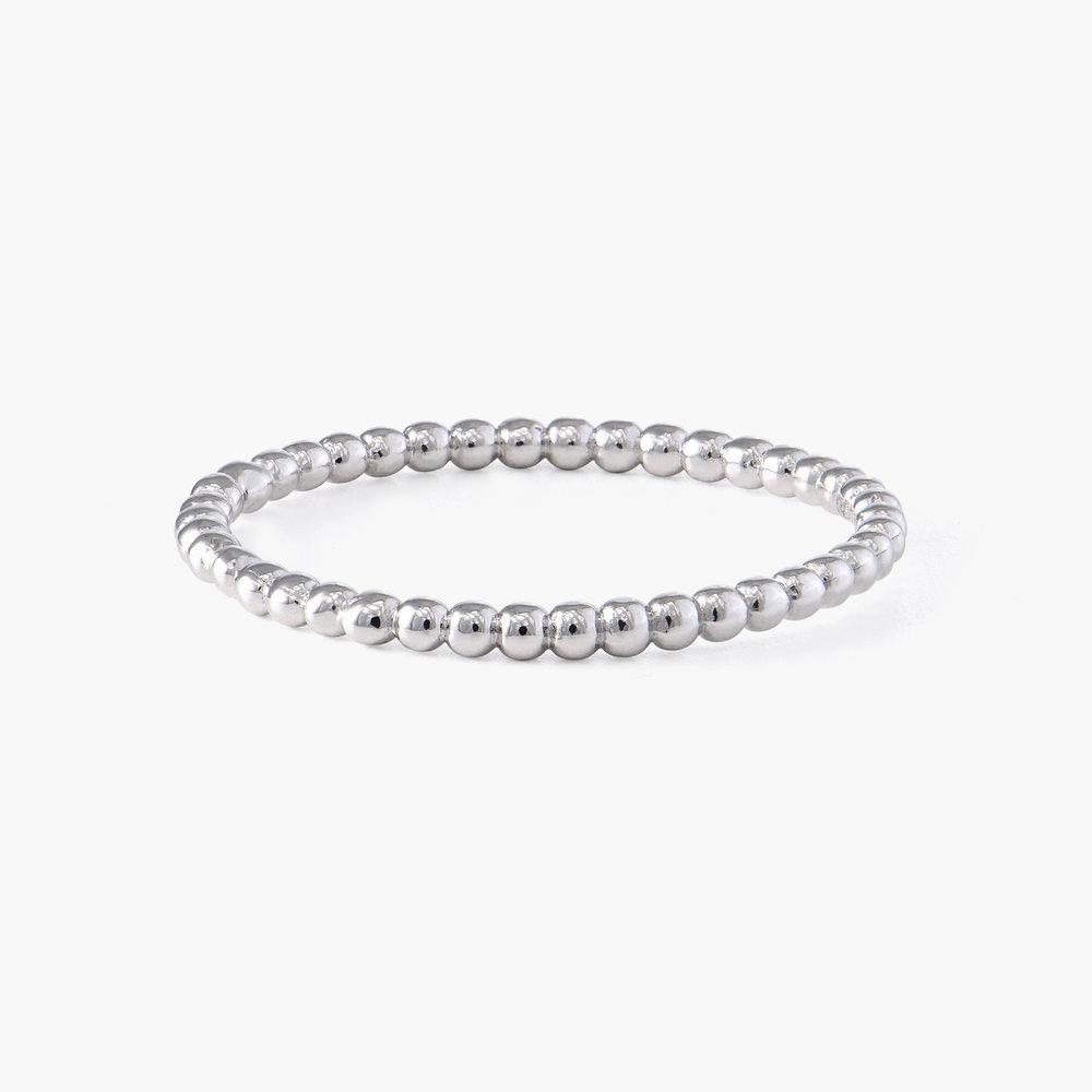 Glisten Dot Ring - Silver