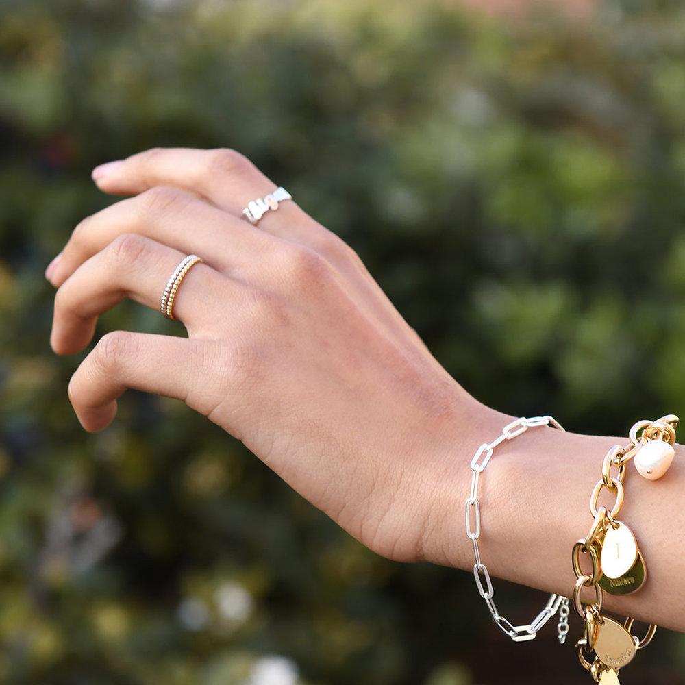 Glisten Dot Ring - Silver - 2
