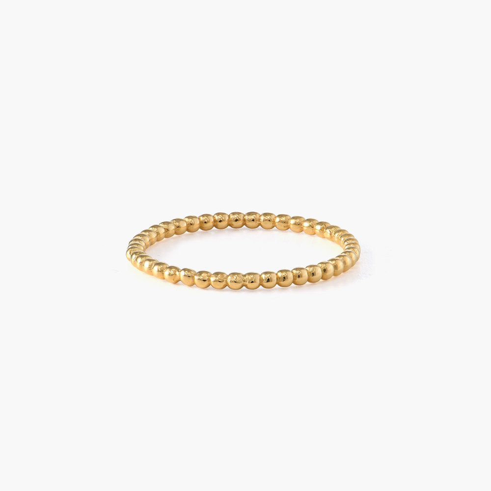 Glisten Dot Ring - Gold Plated