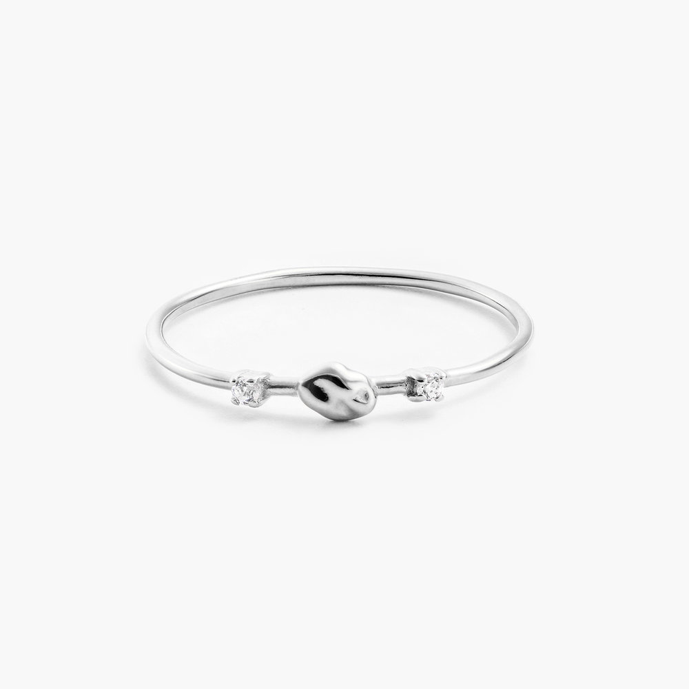 Faye Cubic Zirconia Ring - Sterling Silver