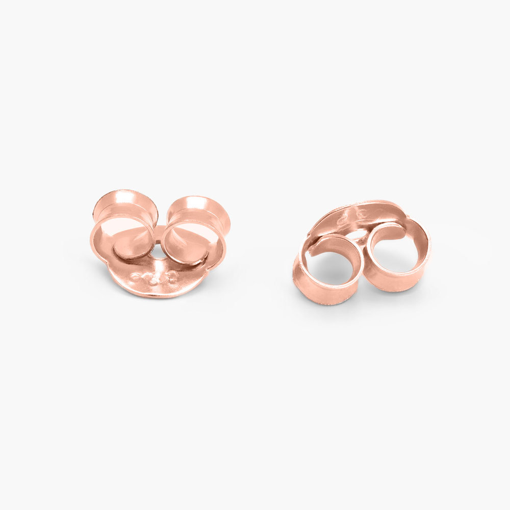 Forget Me Knot Earrings - Rose Gold Plated - 1