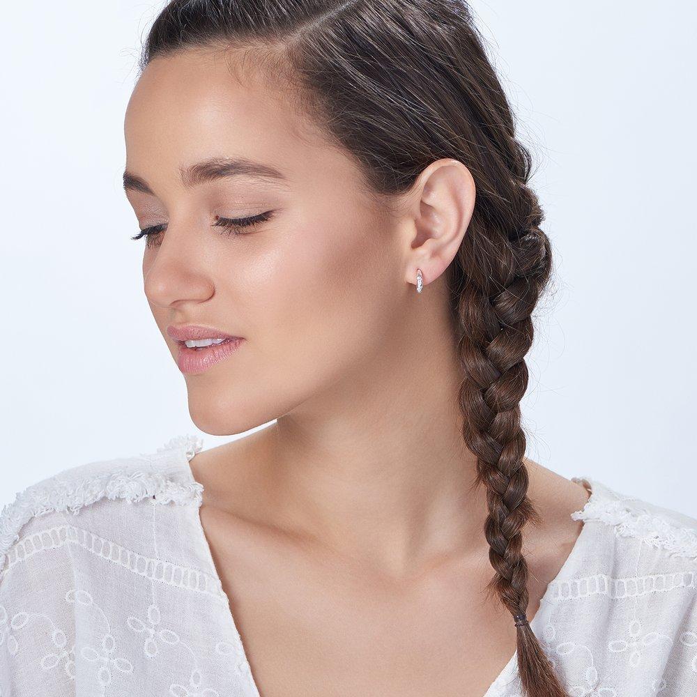 Whisper Earrings - Silver - 3
