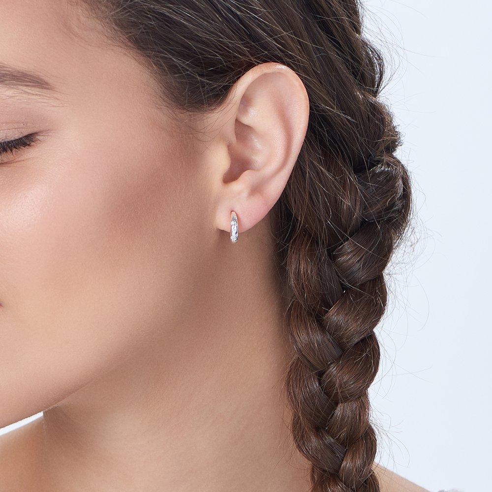 Whisper Earrings - Silver - 4
