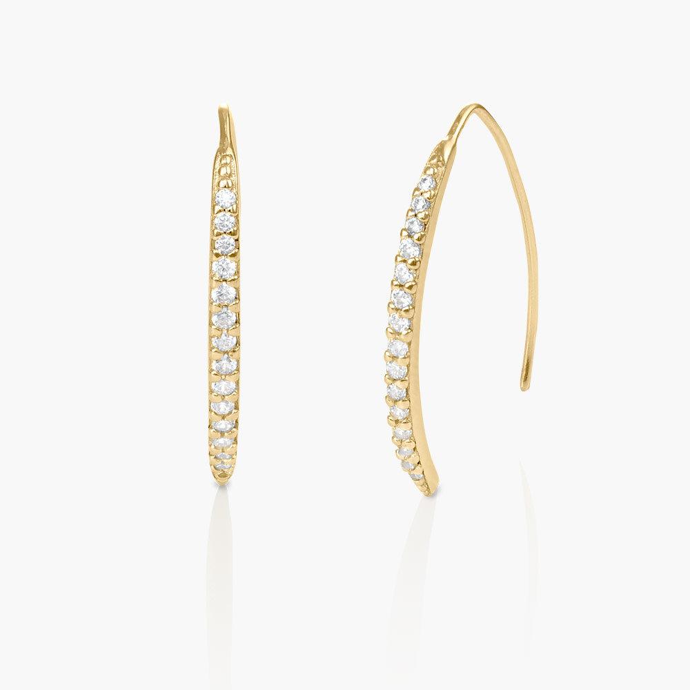 Harper Dangle Earrings - Gold Plated