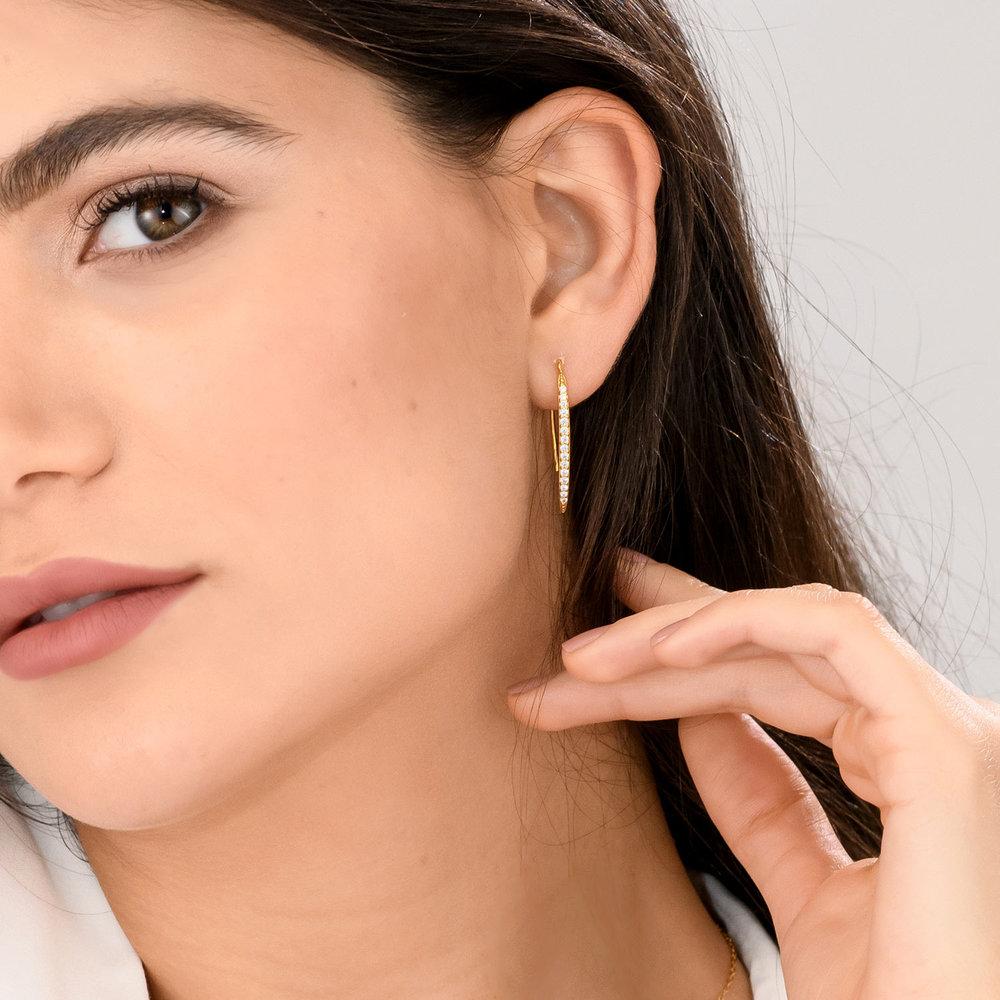 Harper Dangle Earrings - Gold Plated - 2