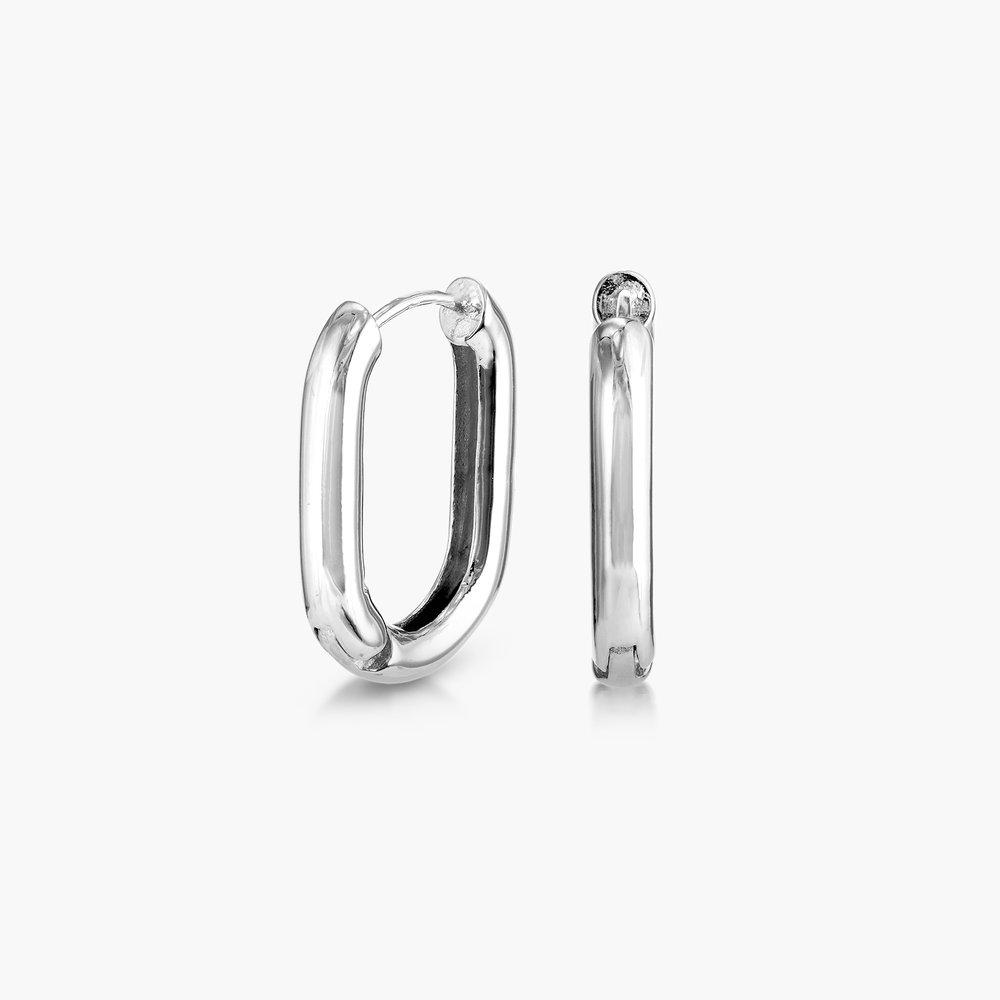 Play it By Ear Link Earrings - Sterling Silver