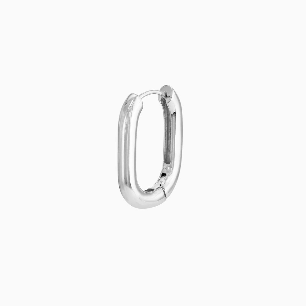 Play it By Ear Link Earrings - Sterling Silver - 1