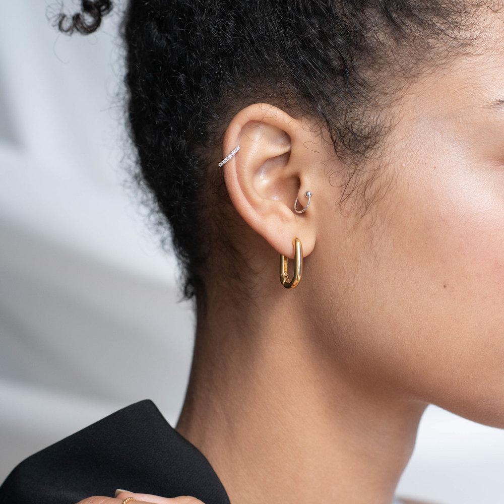 Play it By Ear Link Earrings - Gold Vermeil - 2