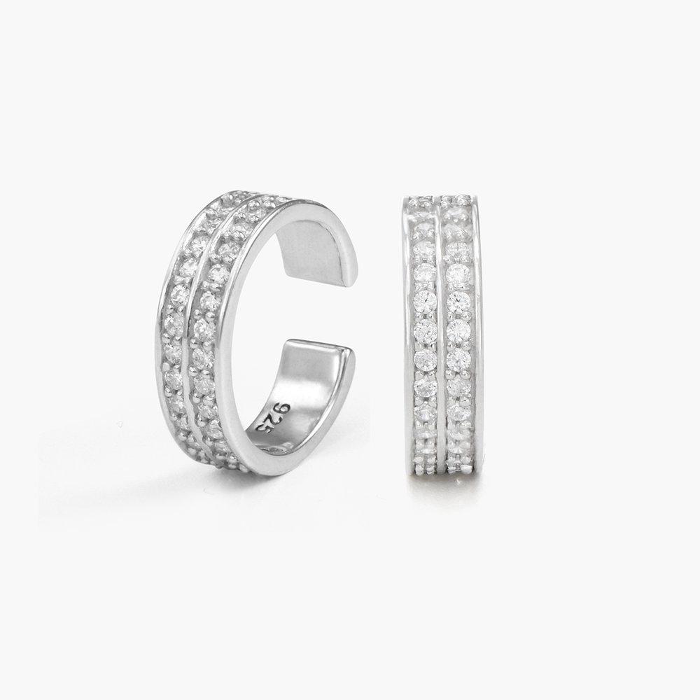 Capri Cuff Earrings - Sterling Silver