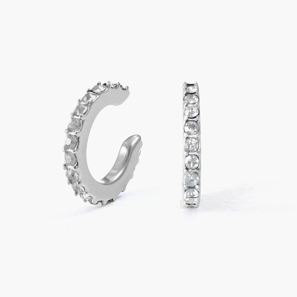 Candy Shop Cuff Earrings - Sterling Silver