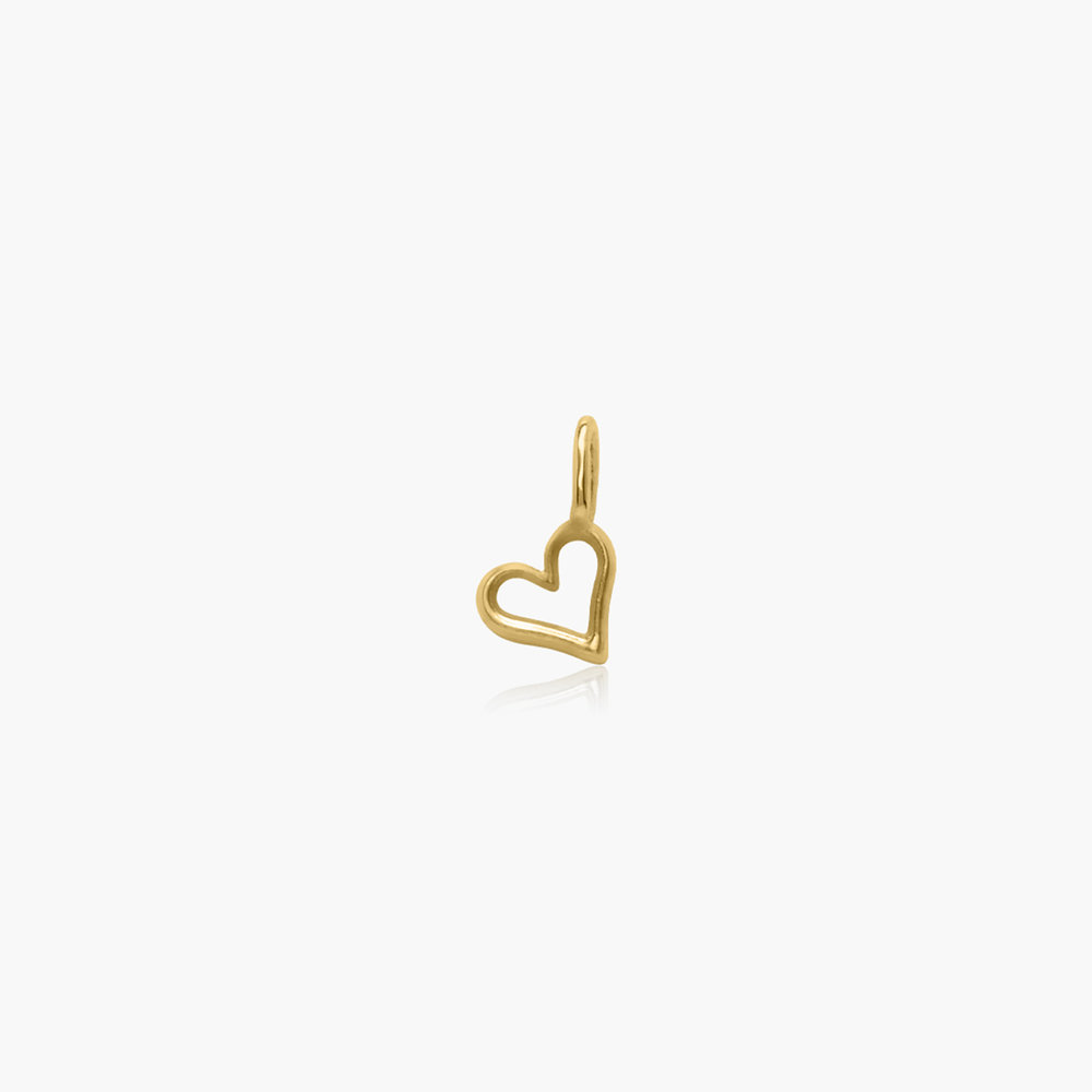 Heart Charm - Gold Vermeil