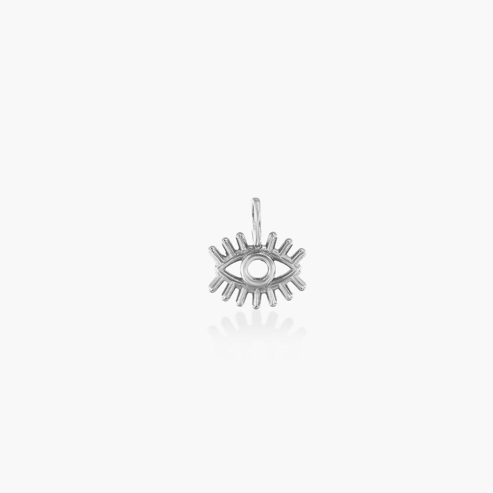 Eye Charm - Silver